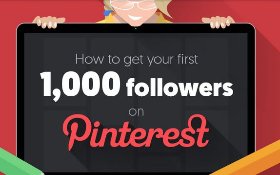 how to get your first 1000 pinterest followers infographic quick sprout
