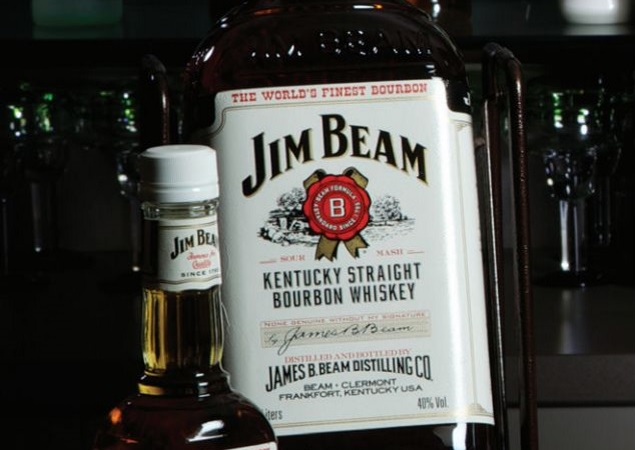 Jim Beam Global Kentucky Straight Bourbon Whiskey Spirits
