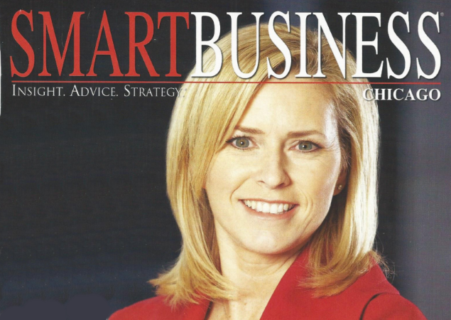 Kelly Grier Managing Partner Ernst & Young EY accounting firm cover story Smart Business Chicago business journalism